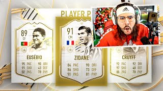 NO LOOK ICON PLAYER PICK PACK!! WTF!! FIFA 21