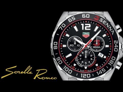 f135ee7fa1762 Tag Heuer Formula 1 Chrono Senna Special Edition - YouTube