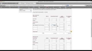 CPF Retirement Calculator Detailed