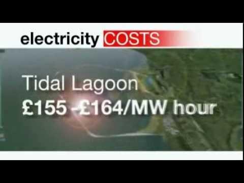 Swansea Bay £850m tidal lagoon bid