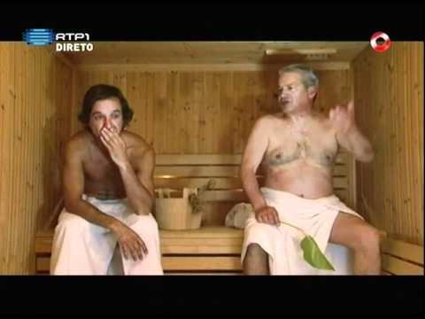 """José Pedro Gomes """"à conversa na sauna""""/ Pedro Vasconcelos / 5 Para a Meia Noite"""