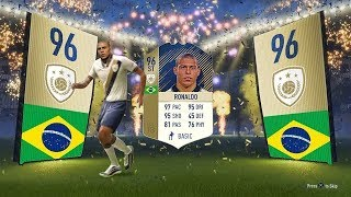 Best ever fifa 18 packs - luckiest fifa 18 pack opening best youtuber reactions  w/ icons & pele!