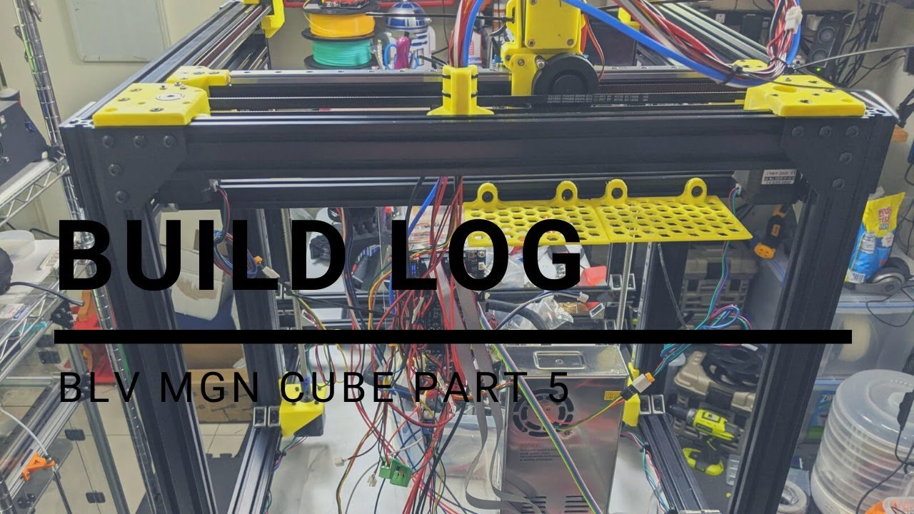 BLV MGN Cube Build Part 5 (Firmware and Motor Wiring)
