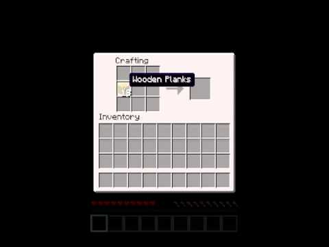 wie baut man bei minecraft eine fallt r youtube. Black Bedroom Furniture Sets. Home Design Ideas