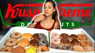 GIRL EATS EVERY SINGLE Krispy Kreme DONUT | 6000+ KCAL