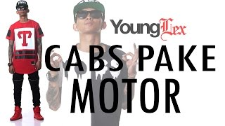 YOUNG LEX - Cabs Pake Motor (Video Lyric)