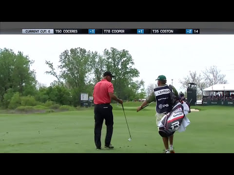 Tom Lehman's caddy asks for trust, Lehman delivers on No. 16