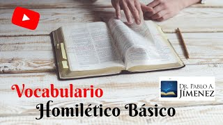 Cover images Vocabulario homiletico basico