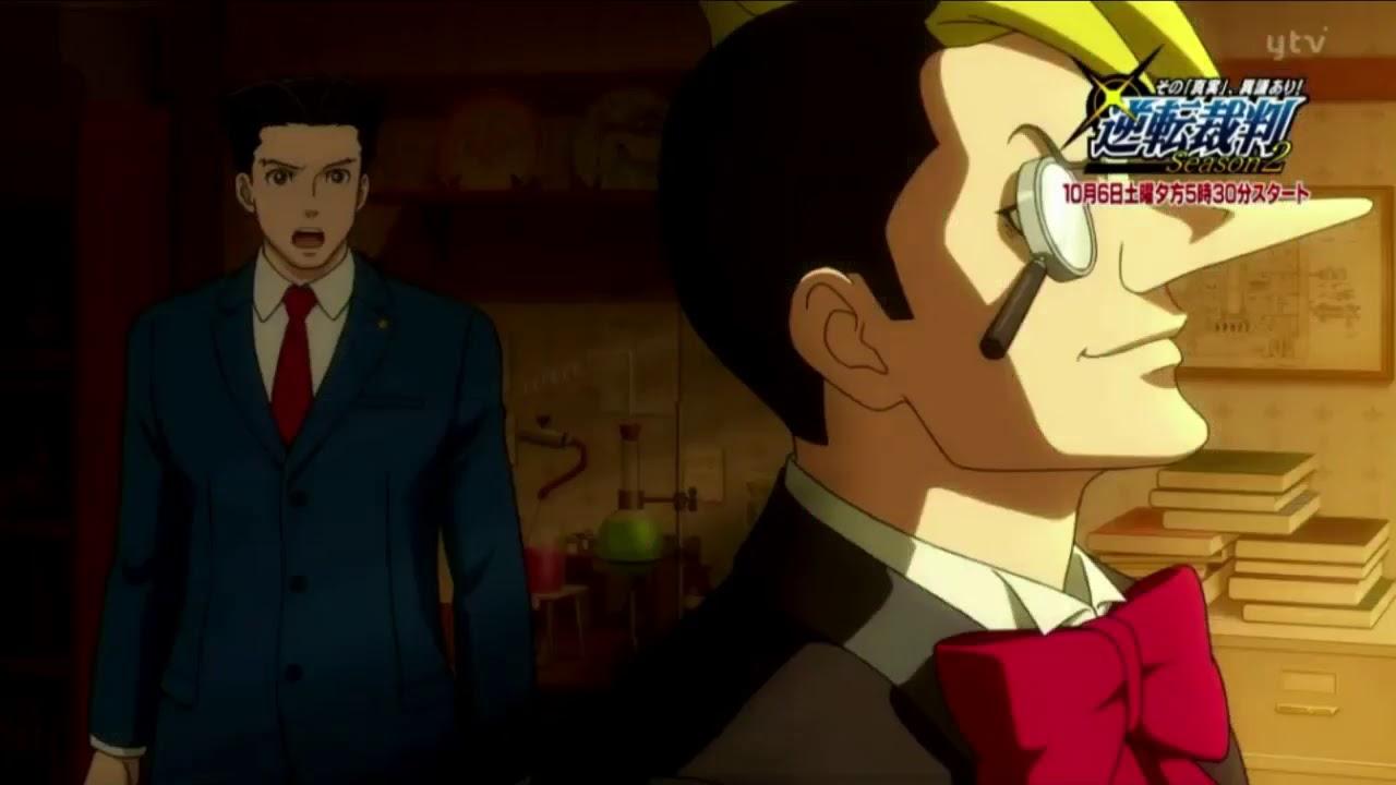 Ace attorney season 2 promo