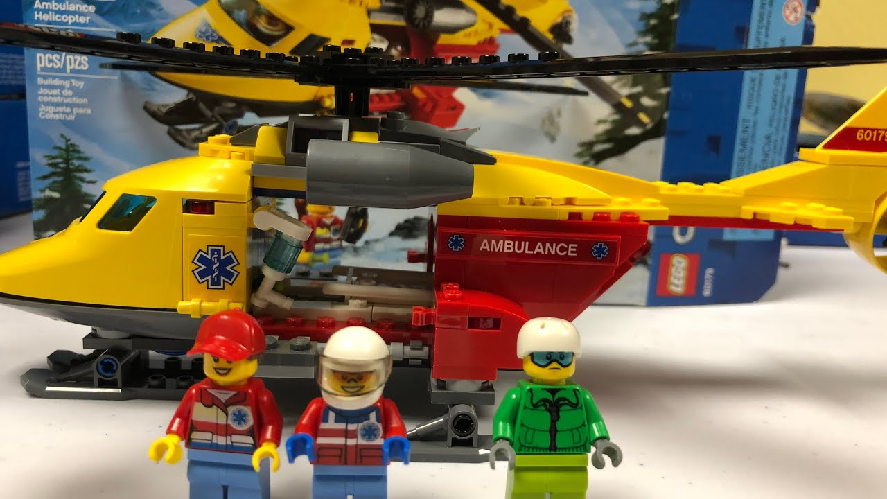 Negozio Di Sconti Onlinelego City Helicoptere Ambulance