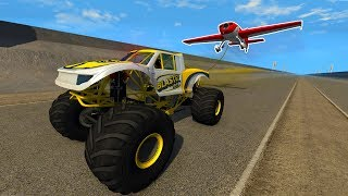 BeamNG - Turning A Plane Into A Kite! - BeamNG Drive Sandbox Gameplay