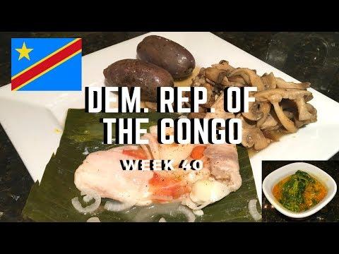 Second Spin, Country 40: Congo-Kinshasa [International Food]