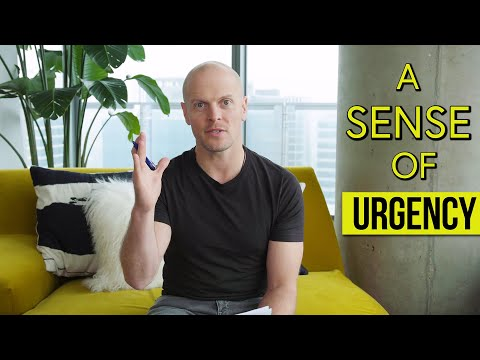 Life Is Short: How to Add a Sense of Urgency | Tim Ferriss - YouTube