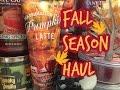 Fall Season Haul 🍁