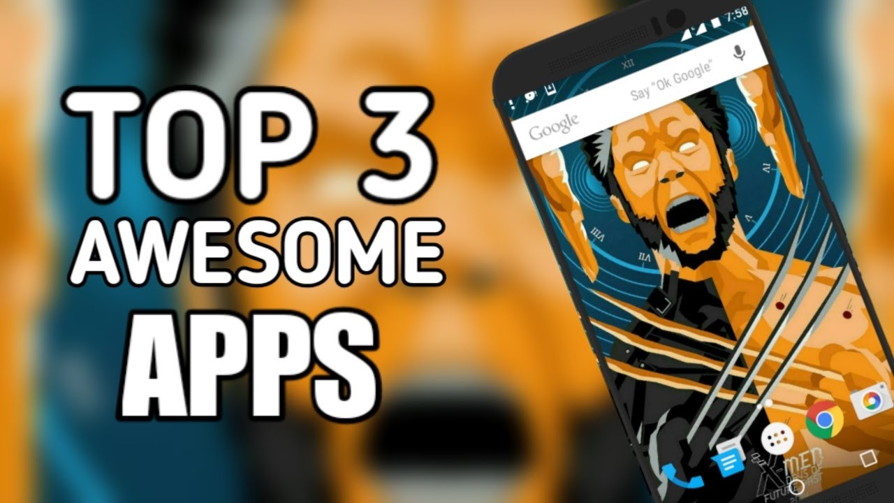 top 3 android apps
