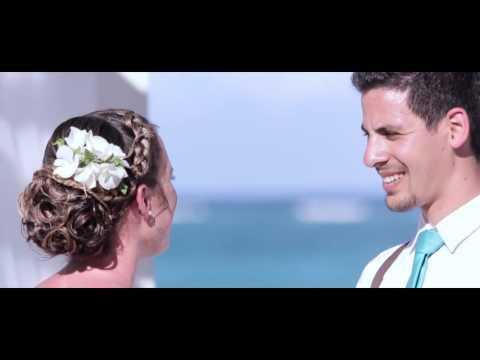 Grand Palladium Wedding - Beach Wedding