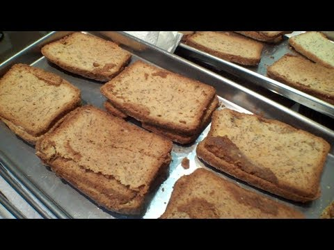 Will it Freeze Dry? - Zucchini, Banana, Almond and Poppy seed bread ends in a Harvest Right.