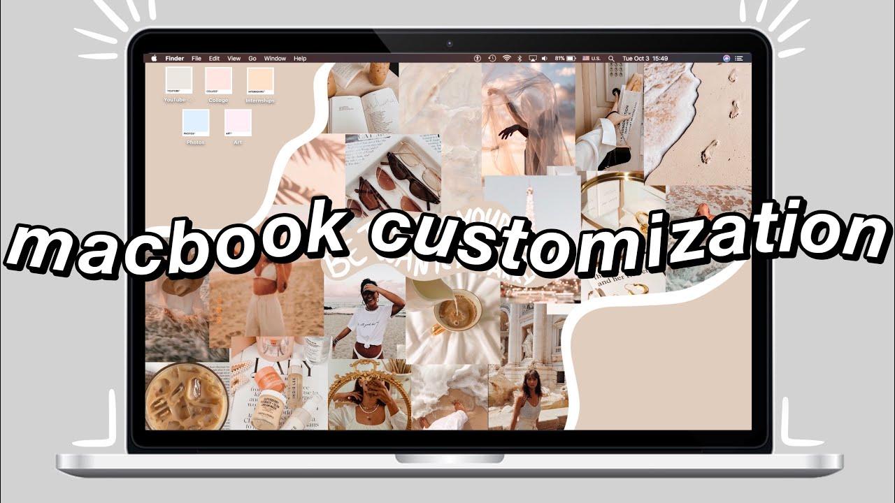 How to Customize Your Macbook 2021   Macbook Organization & Declutter