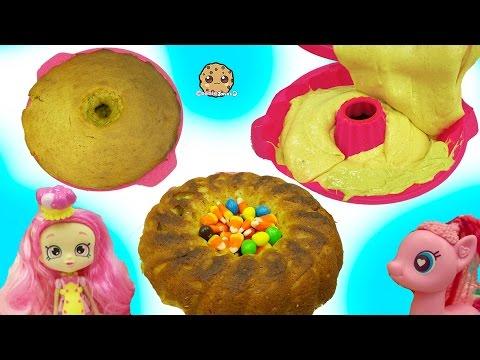 shoppies chef club doll mlp pinkie pie bake pumpkin cake with