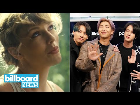 taylor-swift-breaks-chart-records-with-'folklore,-new-music-from-bts-&-more- -billboard-news