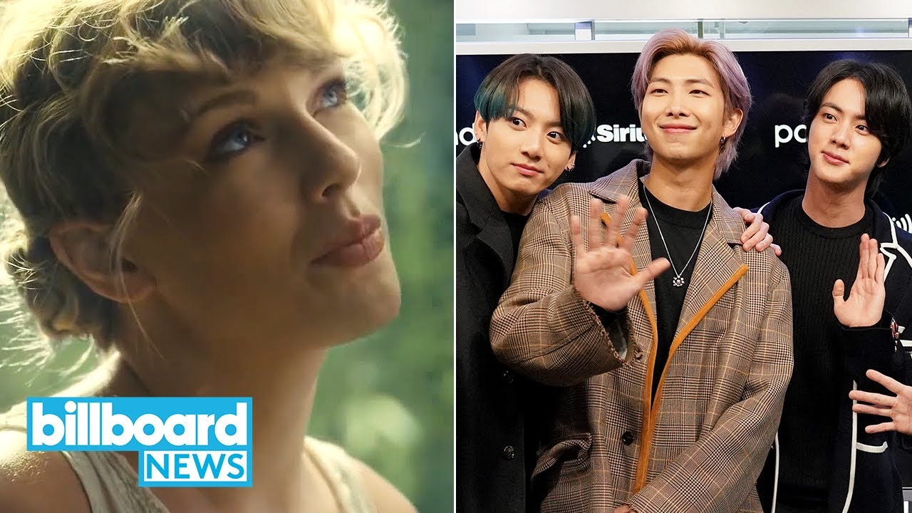 Taylor Swift Breaks Chart Records With Folklore New Music From Bts More Billboard News Youtube
