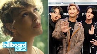 Taylor Swift Breaks Chart Records With 'Folklore,' New Music From BTS \u0026 More | Billboard News
