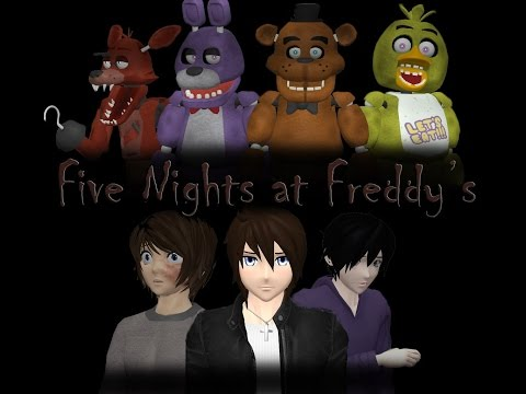 [MMD PV][MMD FNAF] Five Nights At Freddy's Song