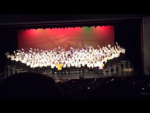 Clover Middle School Disney Chorus (Be our Guest)- Everyone