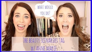 Beauty Scenario Tag W/ Anne Marie! | Blair Fowler Thumbnail