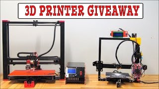 3D PRINTER GIVEAWAY - 50 000 SUBSCRIBERS!