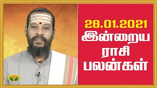 Rasi Palan 28-01-2021 Jaya Tv Horoscope