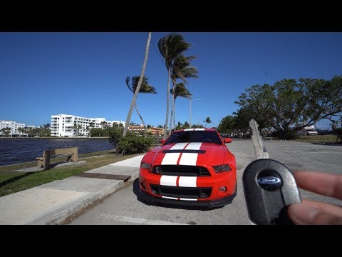 Driving A Shelby GT500