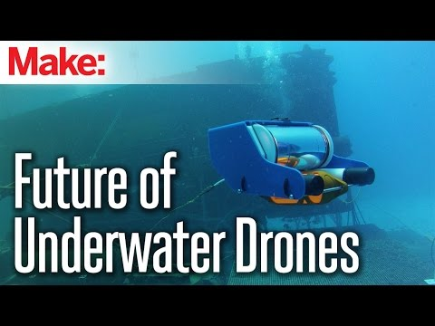 Future of Underwater Drones