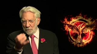 Donald Sutherland on his scenes with Josh Hutcherson cut from new 'Hunger Games'