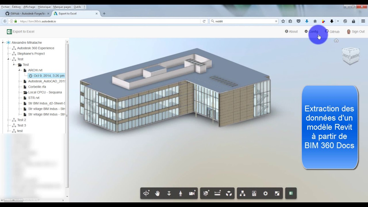 Autodesk Forge: BIM 360 Export to Excel