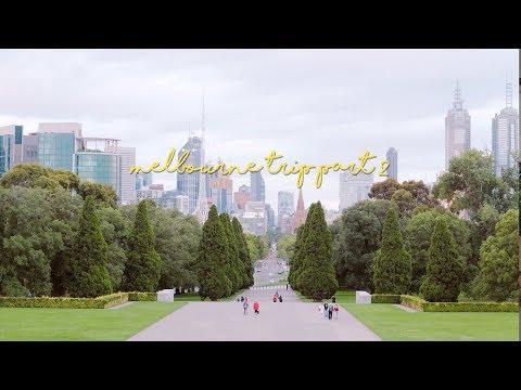 MELBOURNE FUN TRIP Pt.2 • National Gallery of Victoria + Botanical Garden!!