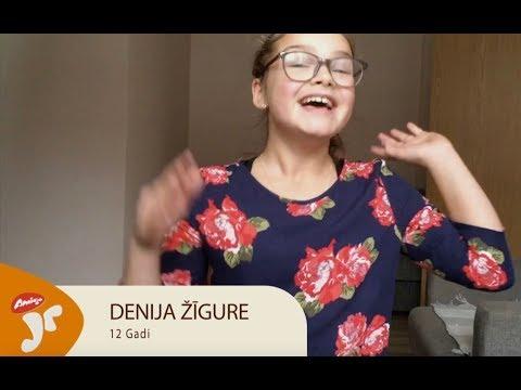 Amigo Juniori fināliste - Denija Žīgure