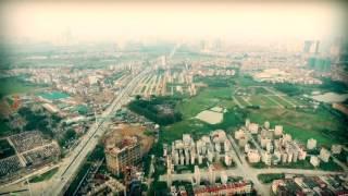Toàn cảnh dự án Usilk City - flycam