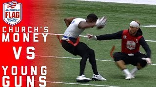 Flag Football Highlights Game 1: Winners Compete to Play Mike Vick & Other Pros | NFL