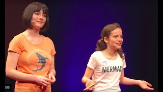 Kids against plastic | Amy & Ella Meek | TEDxExeter