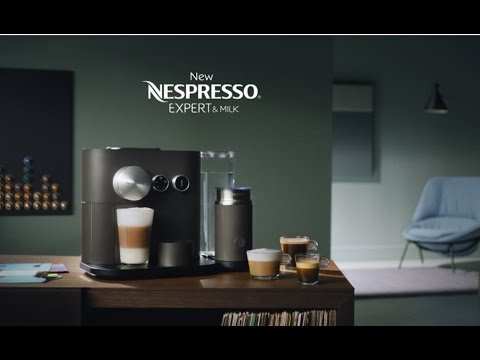 new nespresso expert how to video preparing coffee in. Black Bedroom Furniture Sets. Home Design Ideas
