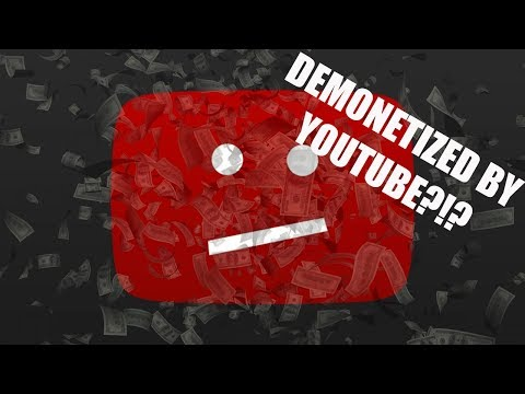 I was Demonotized by YouTube?!