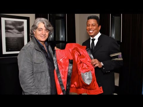 Jermaine Jackson, Marc Laurent Launch Thriller, Beat It Jackets Exclusively on Amazon.com