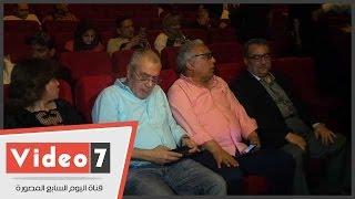 إلهام شاهين ولبلبة وإبراهيم عيسى ضيوف العرض الخاص لفيلم