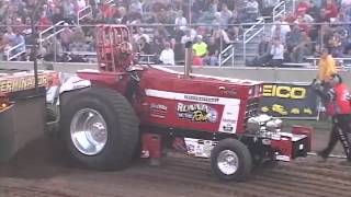 Badger State Tractor Pullers Sauk City pull August 2012