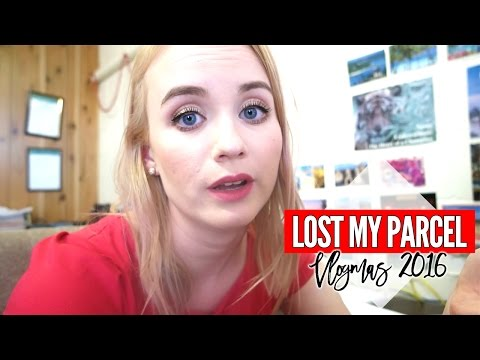 Australia Post Has Lost My Parcel...|| Vlogmas 2016 Day 7 & 8