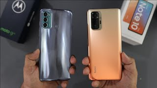 Moto G60 Vs Redmi Note 10 Pro Comparison & SpeedTest