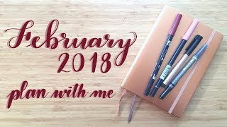 Plan With Me | February 2018