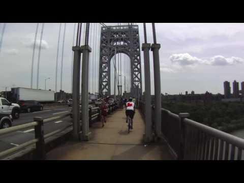 George Washington bridge bike