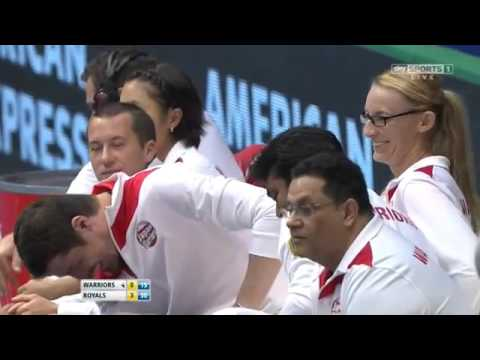 Sharapova & Herbert vs Mladenovic & Nestor FULL MATCH HD IPTL KOBE 2015